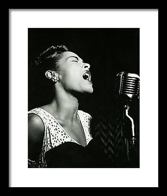 Jazz Photographs Framed Prints