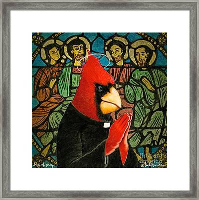 Bird Of Pray... Framed Print by Will Bullas