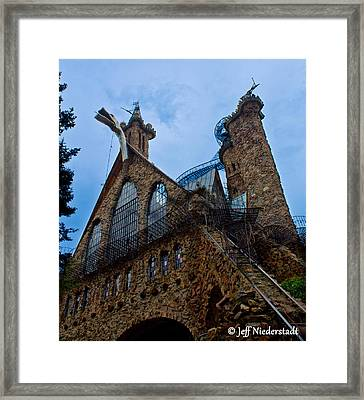 Bishop's Castle Framed Print