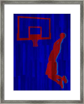Blake Griffin Los Angeles Clippers Framed Print by Joe Hamilton