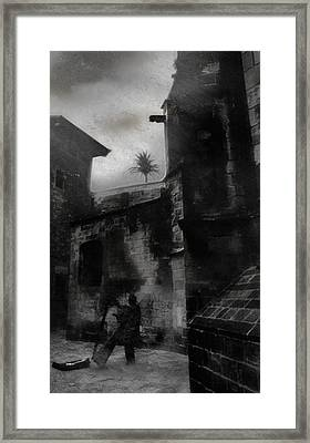 Blind Mellon Framed Print by David Fox