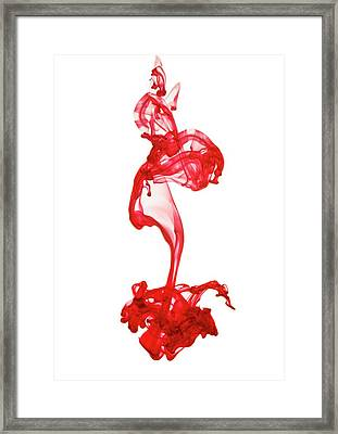 Blood Framed Print by Gustoimages/science Photo Library
