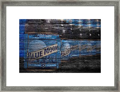 Blue Moon Framed Print by Joe Hamilton