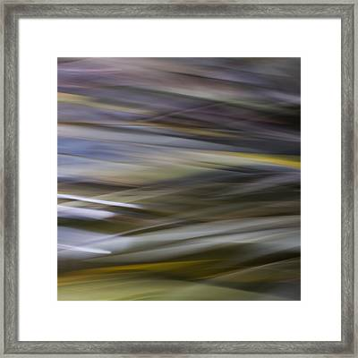 Blurscape Framed Print by Dayne Reast