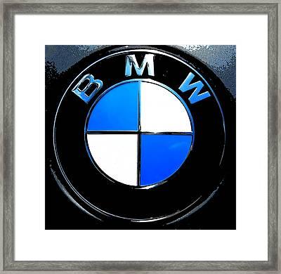 BMW Framed Print