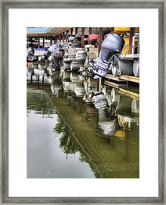 Boating Framed Print by Dan Sproul