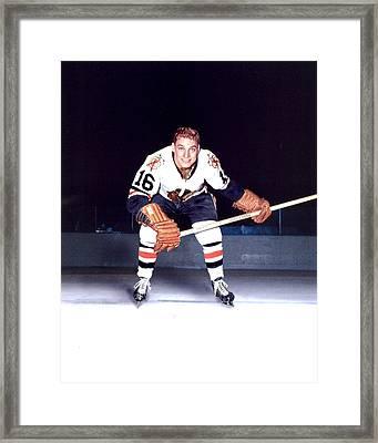 Bobby Hull Framed Print