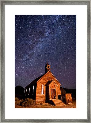 Bodie Church Framed Print