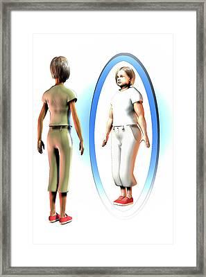 Body Dysmorphia Framed Print by Carol & Mike Werner