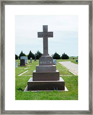 Bomarton Catholic Cemetery 3 Framed Print