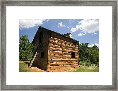 Booker T. Washington National Monument Virginia Framed Print