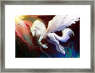 Born To Be Free Framed Print