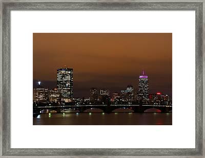 Boston Framed Print by Andrea Galiffi