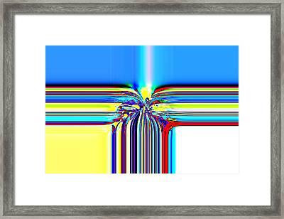 Boston Lights Series B  Framed Print