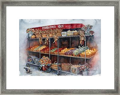 Boston Market Framed Print