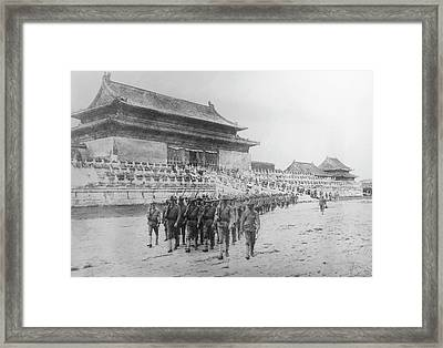 Boxer Rebellion, 1900 Framed Print by Granger