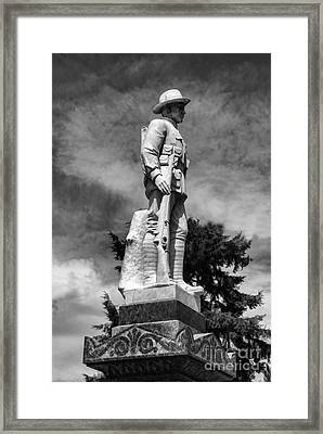 Braidwood  War Memorial Framed Print