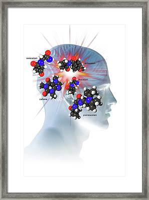 Brain-enhancing Supplements Framed Print by Carol & Mike Werner