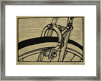 Brake Framed Print by William Cauthern