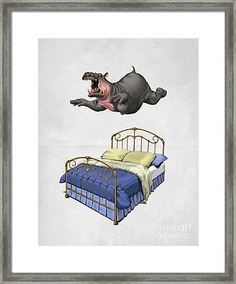 Break Time Wordless Framed Print by Rob Snow