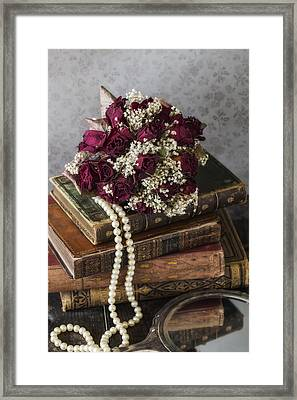 Bridal Bouquet Framed Print
