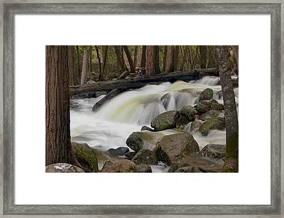 Bridalveil Creek Framed Print