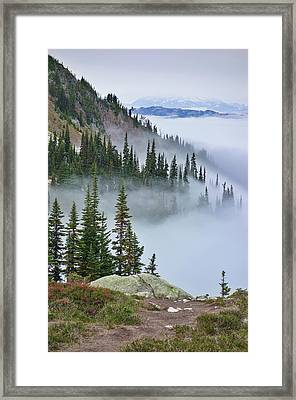 British Columbia, Whistler Framed Print