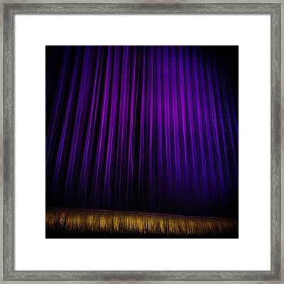 Broadway Framed Print by Natasha Marco