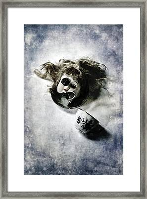 Broken Head Framed Print by Joana Kruse