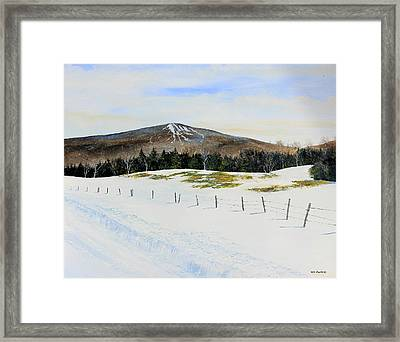Bromley View Framed Print