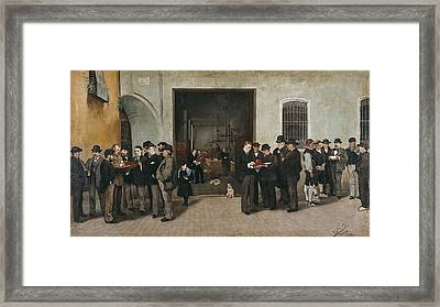 Bru Albi�a�a, Jos� 19th Century Framed Print by Everett