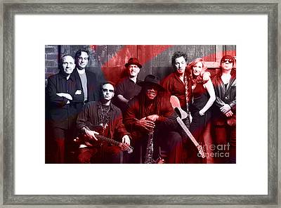 Bruce Springsteen  Framed Print by Marvin Blaine