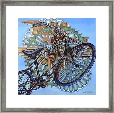 Bsa Parabike Framed Print by Mark Jones