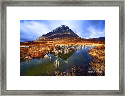 Buachaille Etive Mor Scotland Framed Print