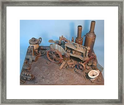 Bubba's Junkyard Framed Print by Stuart Swartz