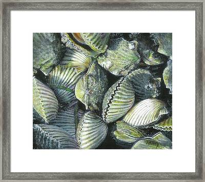 Bucketful Framed Print