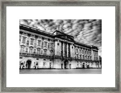 Buckingham Palace Framed Print by David Pyatt