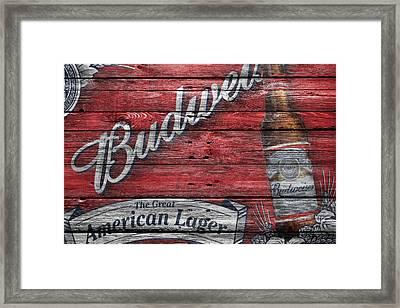 Budweiser Framed Print