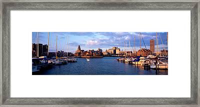 Buffalo Ny Framed Print by Panoramic Images