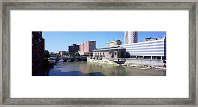 Buildings At The Waterfront, Genesee Framed Print by Panoramic Images