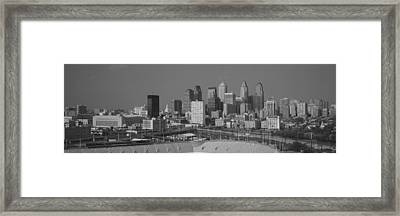 Buildings In A City, Philadelphia Framed Print by Panoramic Images