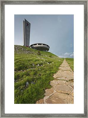 Bulgaria, Central Mountains, Shipka Framed Print