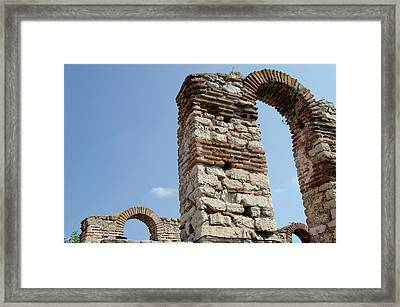 Bulgaria, Nessebur (aka Nessebar Framed Print by Cindy Miller Hopkins