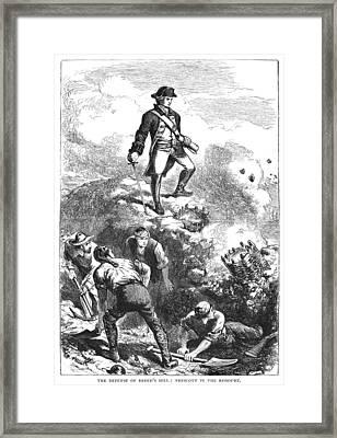 Bunker Hill, 1775 Framed Print by Granger
