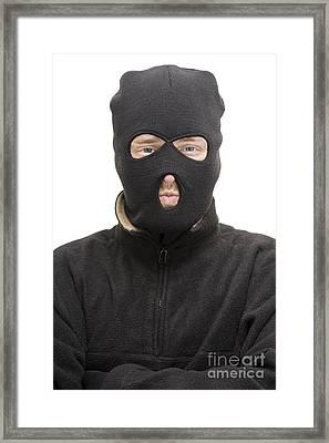 Burglar Framed Print
