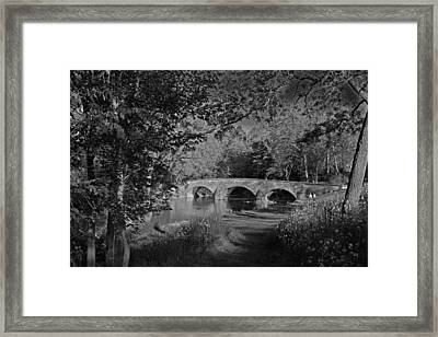 Framed Print featuring the photograph Burnside Bridge by Andy Lawless