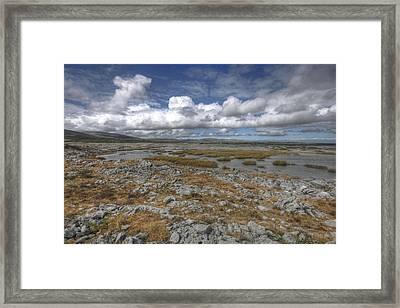 Burren Scenery Framed Print