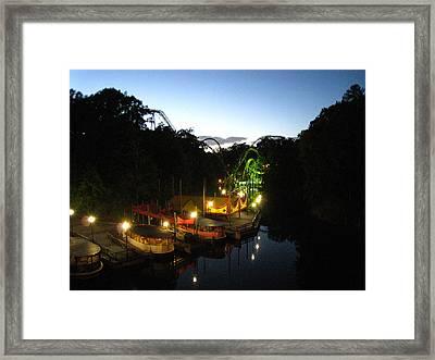 Busch Gardens - 121212 Framed Print