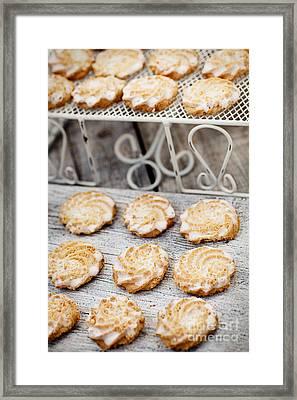 Butter Cookies Framed Print