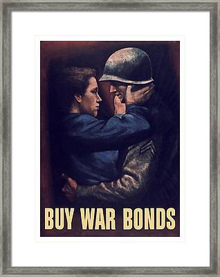 Buy War Bonds Framed Print by War Is Hell Store